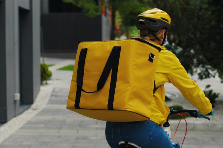 自転車があればOK!カフェのデリバリーバイト